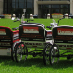 BackOffice Associates Pedicabs.