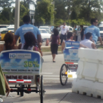 Hispanic Business and Consumer Expo pedicabs