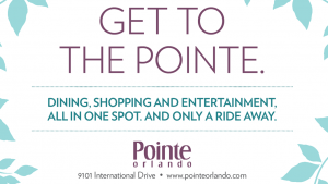 Pointe Orlando, the closest shopping experience to the Orange County Convention Center on International Drive in Orlando, Florida.