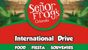 Señor Frog's Orlando on International Drive