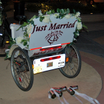 Redi Pedi Wedding or bridal pedicab rides are available through out Florida.