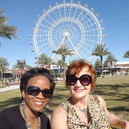 Take a Historic Selfie tour of International Drive in Orlando, Florida.