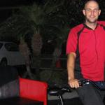 The first pedicab driver of the Redi Pedi Cab Company.