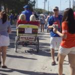 Florida vs. Georgia pedicab rides