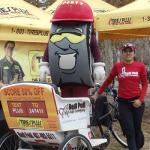Citrus Bowl Parade Pedicab Ride